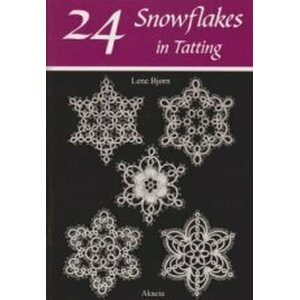 24 Snowflakes in Tatting - Lene Björn